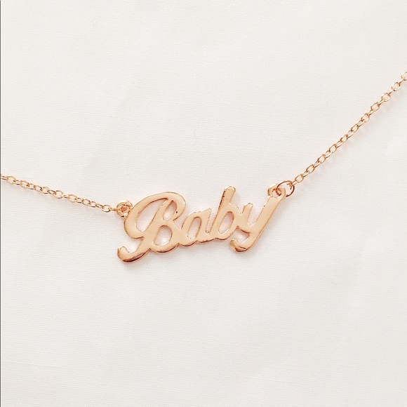 Brandy Melville Jewelry - baby necklace